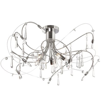 Chesney 5-Light Semi Flush Mount