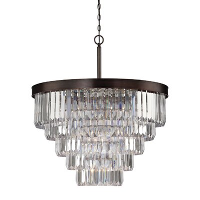 Kester 9-Light Crystal Chandelier