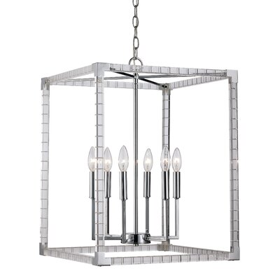 Renhold 6-Light Foyer Pendant
