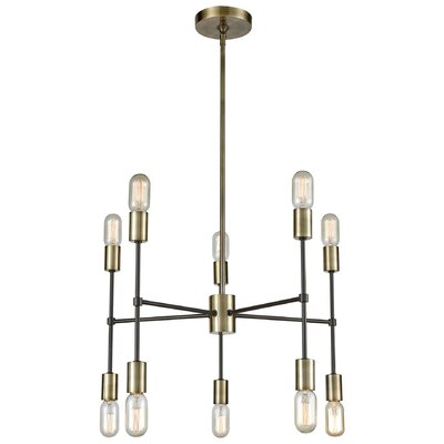 Cheetham 10-Light Sputnik Chandelier