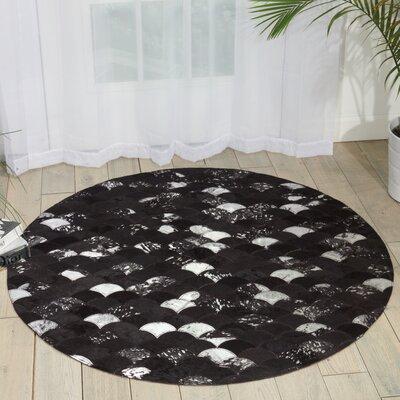 Miramare Black/Silver Area Rug
