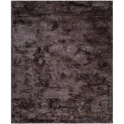 Davey Lavender Shag Rug Rug Size: 8 x 10