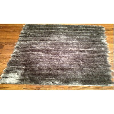 Wyler Hand-Tufted Silver Area Rug Rug Size: Rectangle 8 x 10