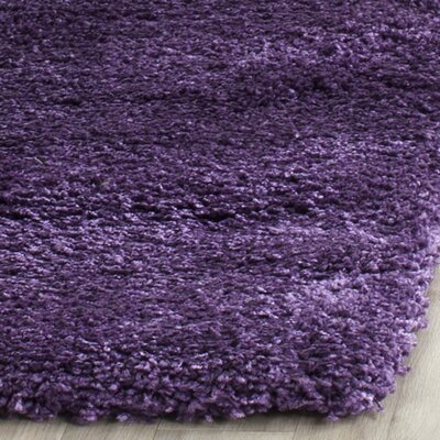 Caryn Purple Area Rug Rug Size: Rectangle 10 X 14