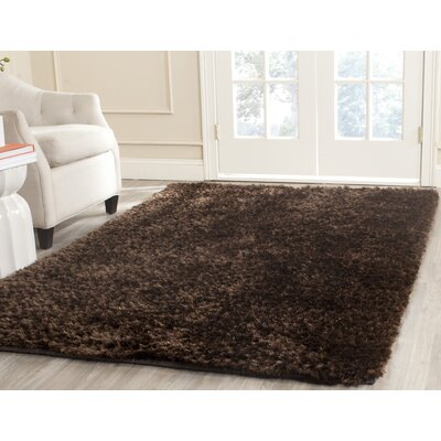 Maya Chocolate Rug Rug Size: Rectangle 8 x 10