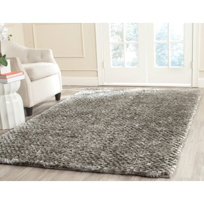 Maya Silver Rug Rug Size: Rectangle 6 x 9