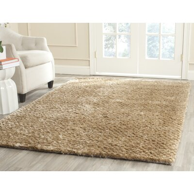 Maya Taupe Rug Rug Size: Rectangle 4 x 6