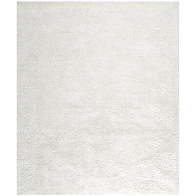 Martha Stewart Shag Pearl Area Rug Rug Size: 8' x 10'