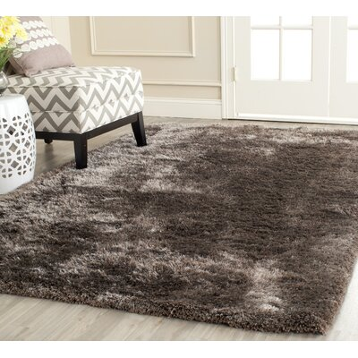 Martha Stewart Shag Latte Area Rug Rug Size: Rectangle 5 x 8