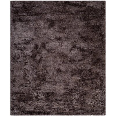 Martha Stewart Shag Lavender Area Rug Rug Size: Rectangle 8 x 10