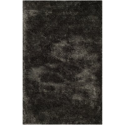 Martha Stewart Shag Charcoal Area Rug Rug Size: Rectangle 5 x 8