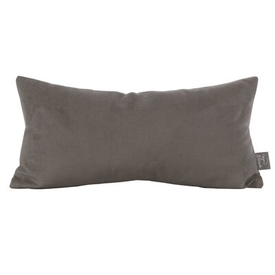 Rozek Lumbar Pillow Color: Bella Pewter
