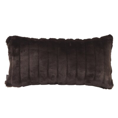 Gianna Rectangular Lumbar Pillow Color: Mink Brown
