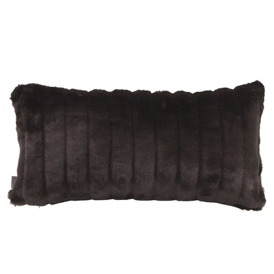 Rozek Lumbar Pillow Color: Mink Black