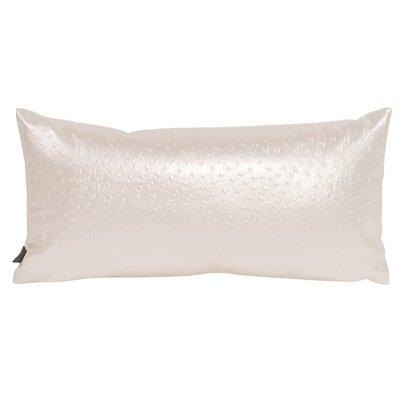Gianna Lumbar Pillow Color: Ostrich Pearl