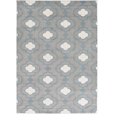 Gerhardt Charcoal Geometric Area Rug Rug Size: Rectangle 33 x 5