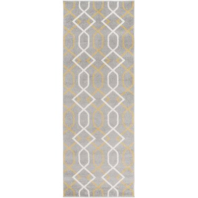 Dufresne Gray Area Rug Rug Size: Rectangle 2 x 3