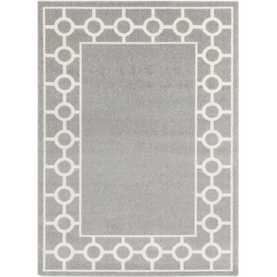Siclen Gray Area Rug Rug Size: Rectangle 53 x 73