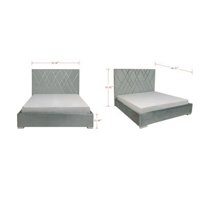 Wareham Upholstered Platform Bed Size: King
