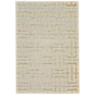 Jardine Cream/Ecru Area Rug Rug Size: Rectangle  9'8