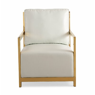 Beauford Eco-Leather Arm Chair