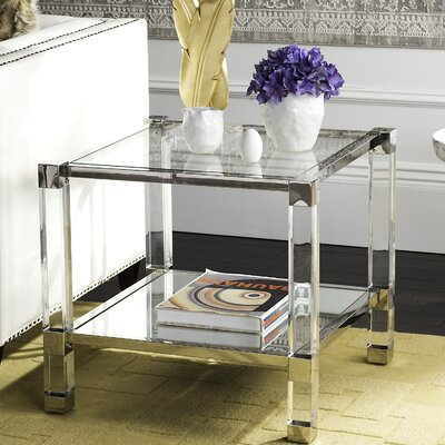 Zola End Table Finish: Silver