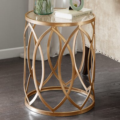 Crewkerne Metal Eyelet End Table