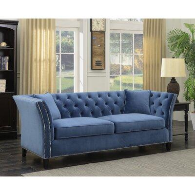 Yorke Tufted Wingback Sofa