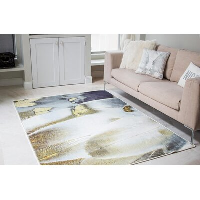 Imogen Royal Feathers Area Rug