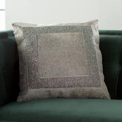 Gilbert Natural Hide Throw Pillow