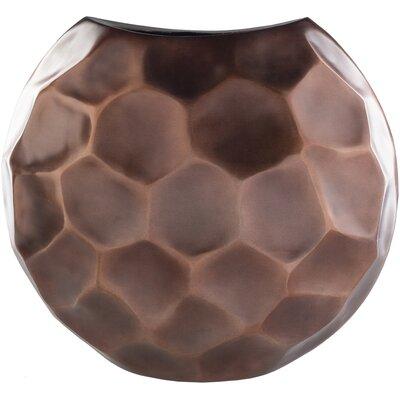 "Copper Metal Table Vase Size: 20"" H x 17"" W x 8.5"" D MCRF2457 37777956"