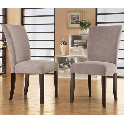 Wingston Parsons Chair Upholstery: Silver Gray