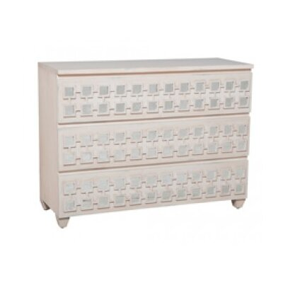 Lisson 3 Drawer Standard Dresser Color: Manor Cottage Shutter