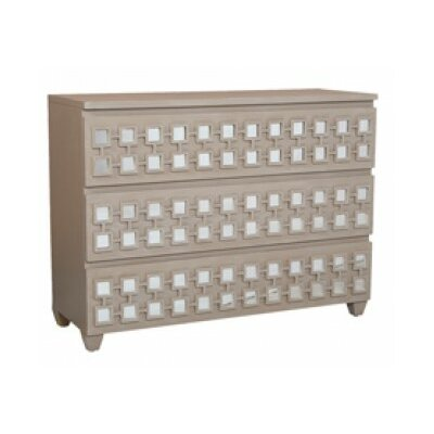 Lisson 3 Drawer Standard Dresser Finish: Manor Taupe Wash