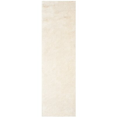 Oakdene Ivory Area Rug Rug Size: Runner 23 x 6