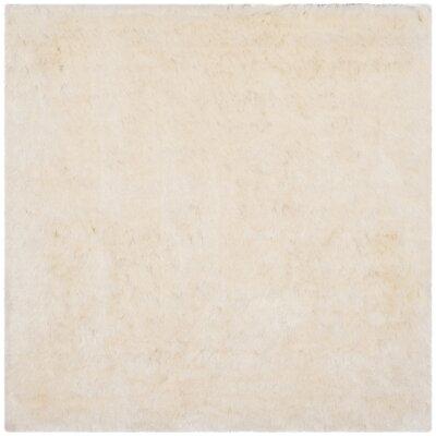 Oakdene Ivory Area Rug Rug Size: Square 5