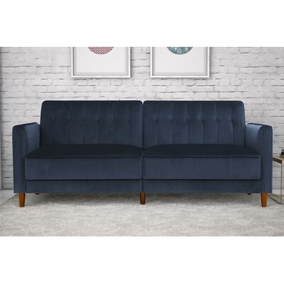Hammondale Pin Tufted Convertible Sofa WRLO6780 40762814