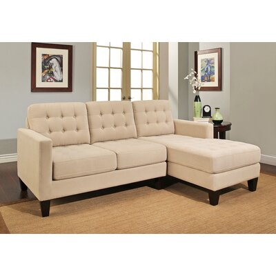 Rosson Sectional Upholstery: Khaki