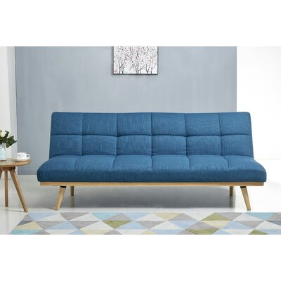 Ellis Sleeper Sofa Upholstery: Blue