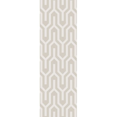 Lingle Ivory Area Rug Rug Size: 2 x 3