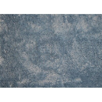Nicollet Bath Rug Size: 17 H x  24 W, Color: Blue