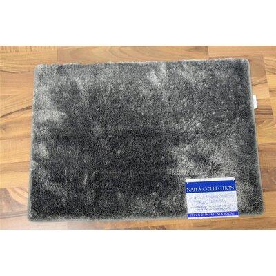 Nicollet Bath Rug Size: 17 H x  24 W, Color: Gray