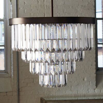 Dyanna 6-Light Glam Crystal Chandelier
