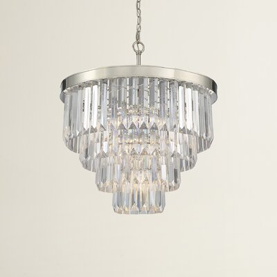 Dyanna 6-Light Crystal Chandelier