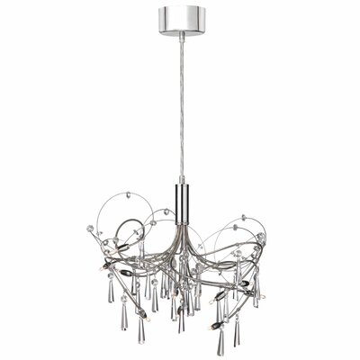Rosenstein 10-Light Crystal Chandelier