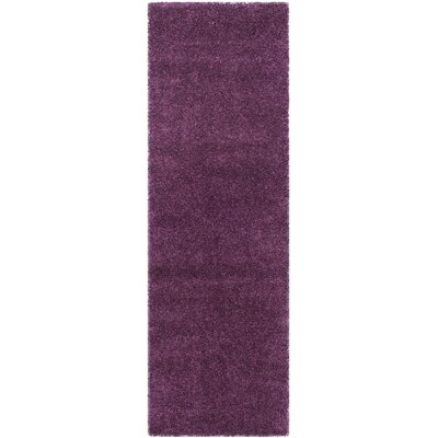 Malina Purple Area Rug Rug Size: Runner 23 x 5