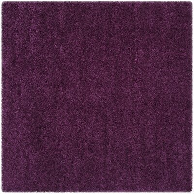 Malina Purple Area Rug Rug Size: Square 6'7