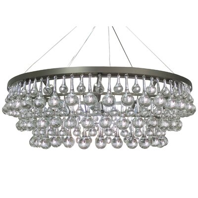 Fabrice 10-Light Modern Crystal Chandelier