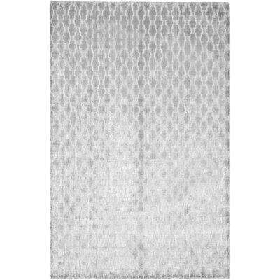 Birksgate Gray Area Rug Rug Size: 76 x 96