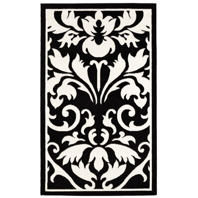 Medici Hand-Tufted Black/White Area Rug